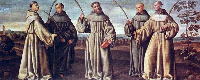 protomartires franciscanos