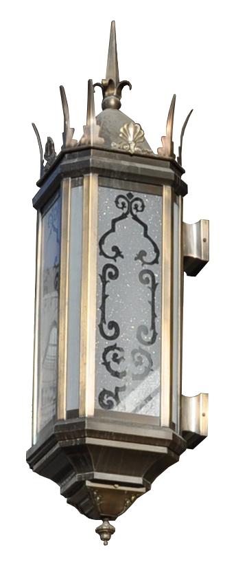 451 Mb2 Br W Sh Pershing Square Spiked Lantern ADG Lighting Wilshire Boulevard Influenced
