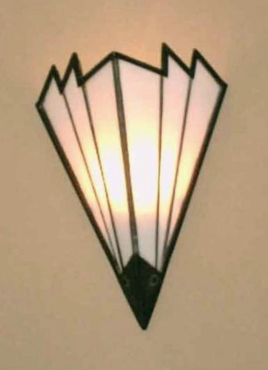 5205 Cb1 Br S Ba Brass Art Deco Sconce ADG Lighting