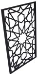 90503 Water Jet Cut Deco Pattern Sconce