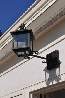 Brick House Federal Style Eagle Lantern By ADG Lighting