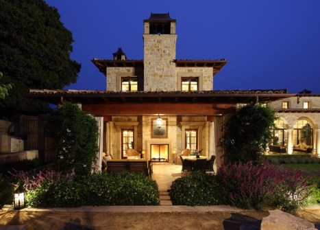 Carmel Valley Estate By Michael Berman Lanterns By ADG Lighting 1a