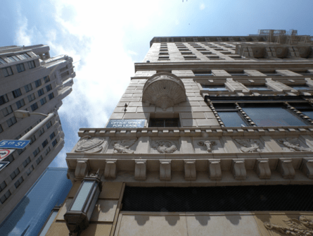 Pershing Square Building Energy Consulting Commercial Exterior Induction Lighting