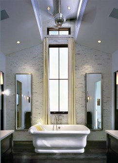 Free Standing Tub With Sconces In Mirror ADG Lighting