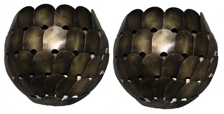 5276 Cb1 Br S Sh Blackberry Water Jet Cut Design Wall Sconce Contemporary Light Hand Made1 E1413322182681  – ADG Lighting