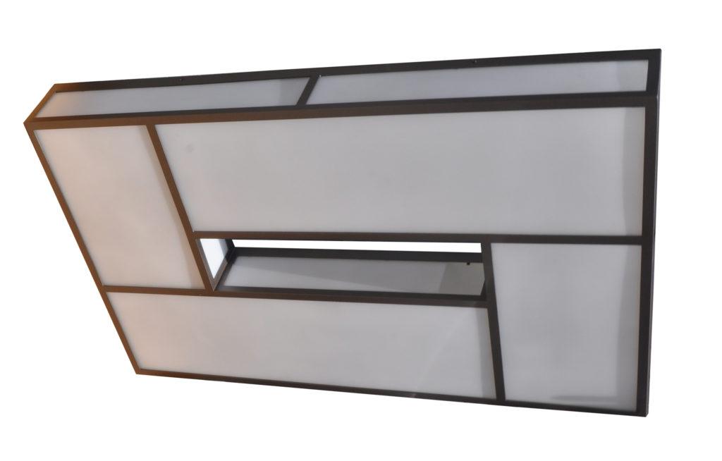 7184 LED St H Ba Modern LEd Ceiling Flush Light Transitional Light 1 CR – ADG Lighting