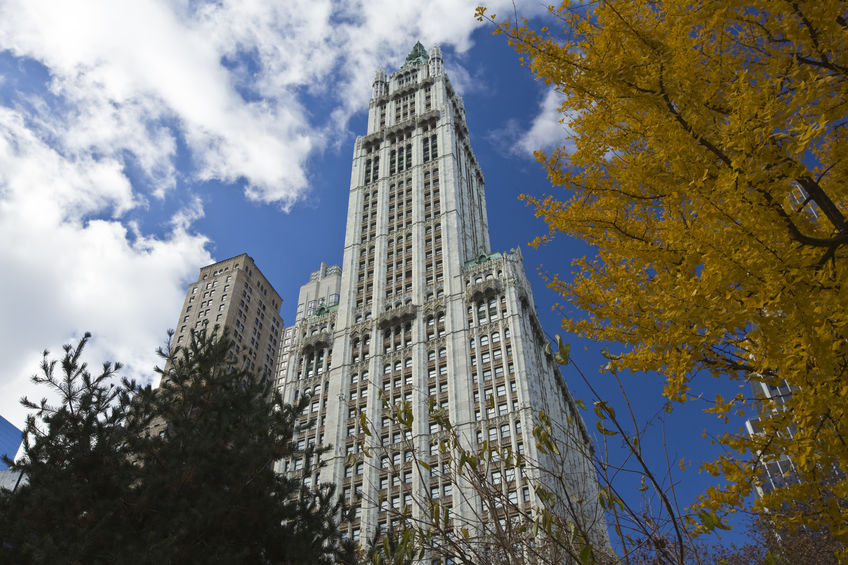 NEW YORK CITY, November 19, 2013: Woolworth Building, New York C