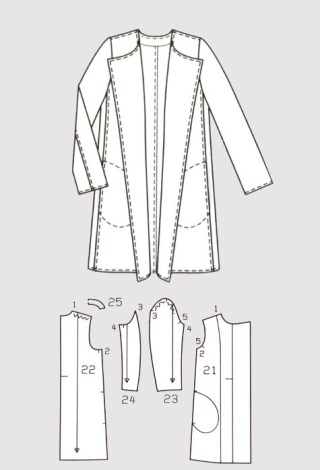 Front View & Patterns by BurdaStyle