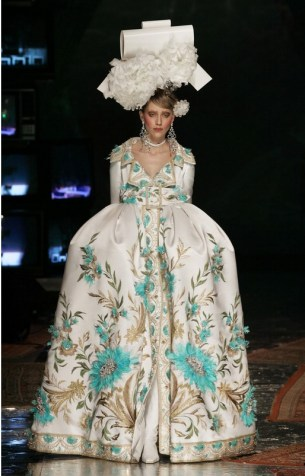 John Galliano for Christian Dior Spring/Summer 2005, Haute Couture © Guy Marineau