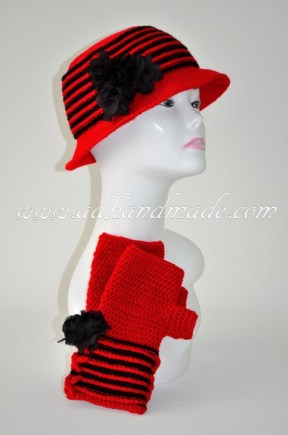 Red Beret-Glove Kit by adhandmade