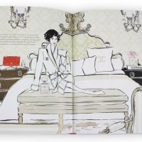 A Book: Coco Chanel,The Illustrated World Of A Fashion Icon by Megan Hess