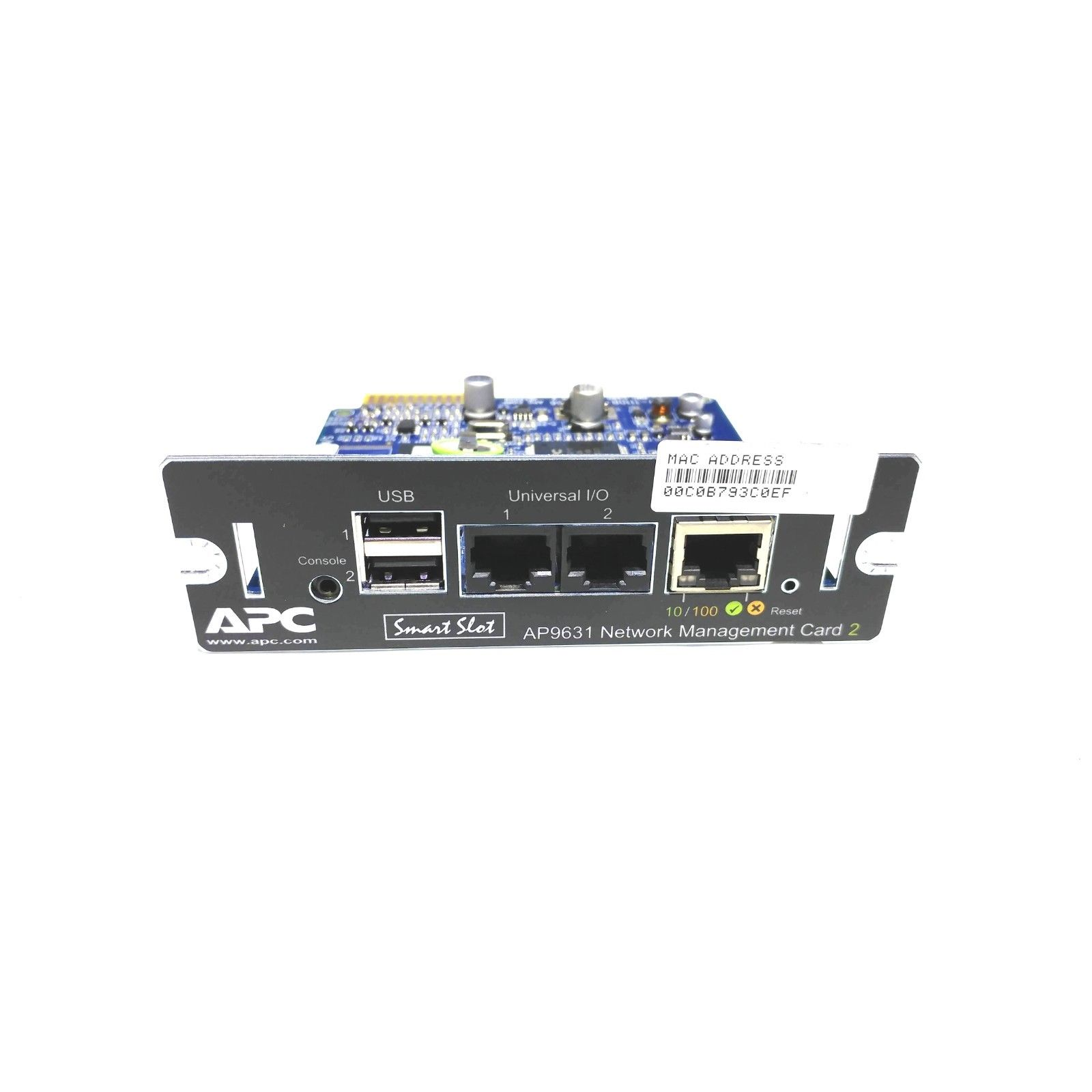 623661dcac2 APC Smart-UPS Network Management Card 2 NMC with EM Smart-Slot Card ...