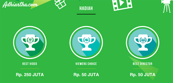 Hadiah Gojek Go Video Competition