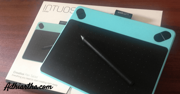 Unboxing-wacom-intuos-draw-blue