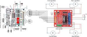 L298 Motor Drive Pins