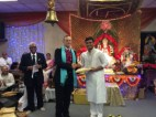 Dandia winner Drupenbhai Patel
