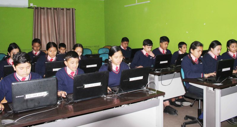 Computer & Technology Lab – Designed by Samsung
