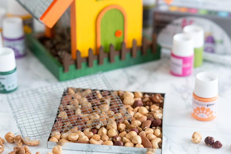 takplattor med nötter