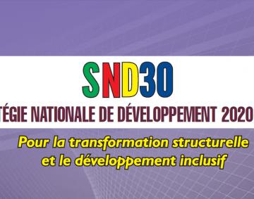 SND30_Stratégie Nationale de Deveppement 2020-2030