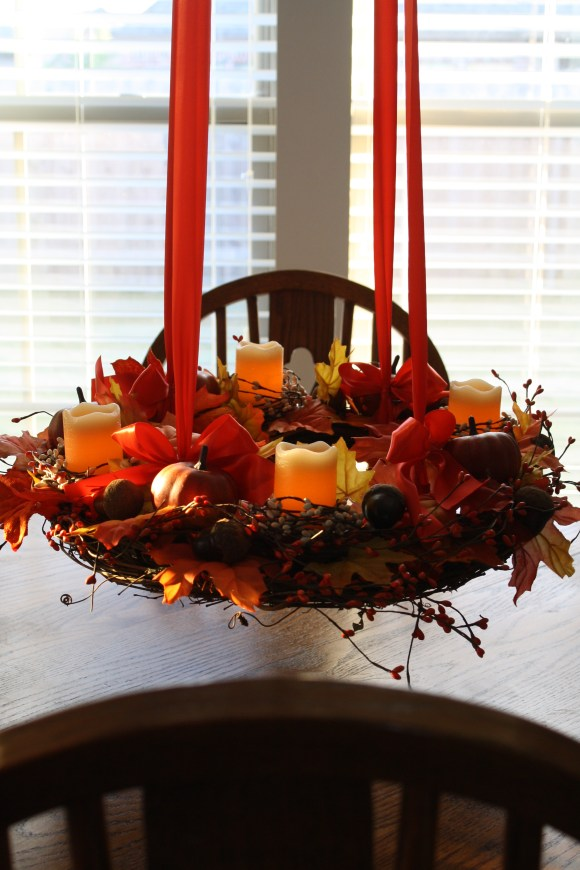 Hanging Fall Centerpiece