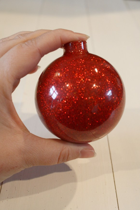 DIY Glittered Ornaments
