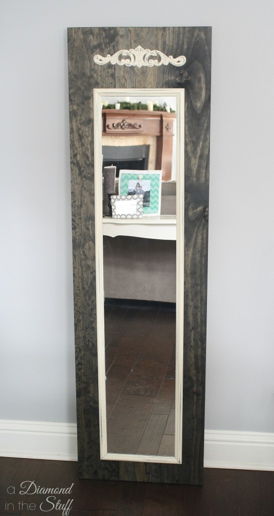 Full Length Mirror Makeover
