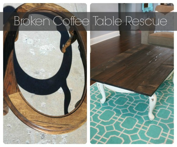 Broken Coffee Table Rescue