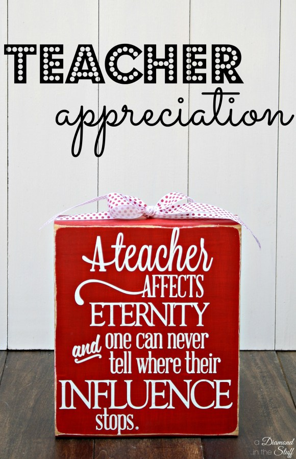 DIY Teacher Appreciation Gifts