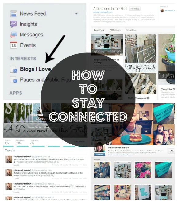 Can You See Me Now {How To Stay Connected}