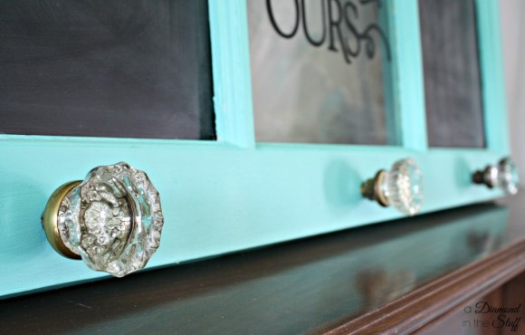Window Memo Board Coat Rack | A Diamond in the Stuff
