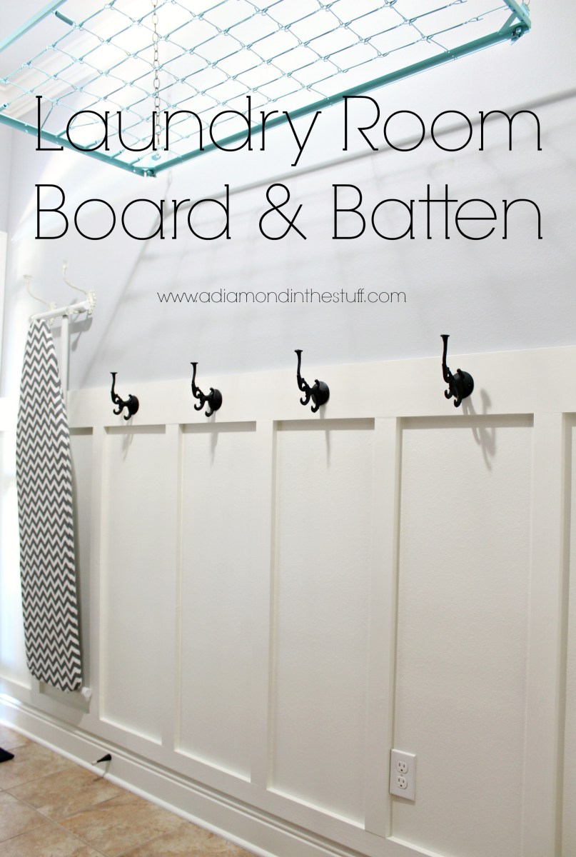 Laundry Room Board And Batten