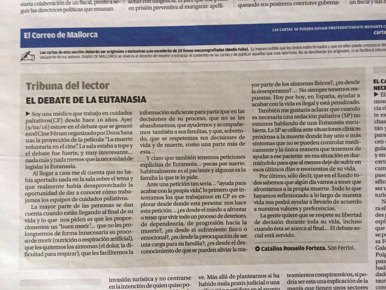 El Debate de la Eutanasia
