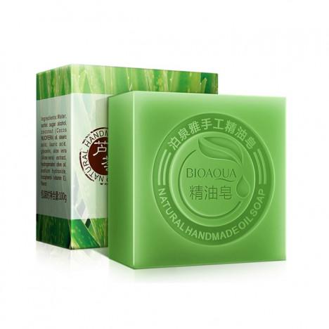 BIOAQUA MATCHA - NATURAL HAND MADE OIL SOAP