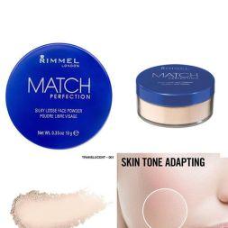 RIMMEL LONDON Match Perfection Silky Loose Face Powder Transparent