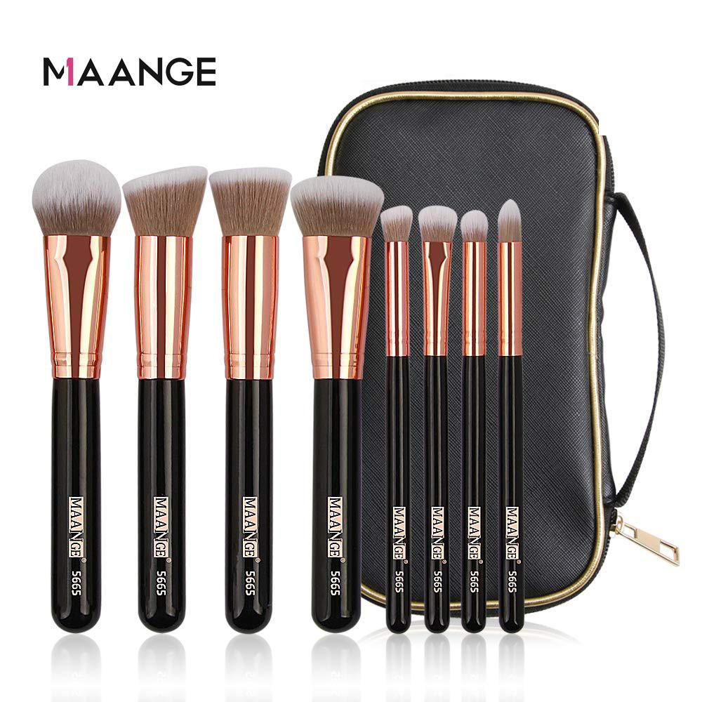 Maangee 8 Pcs Bag Brush Set