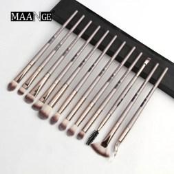 maange 12pcs eyemakeup brush set