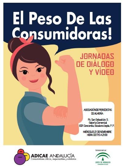 Encuentro sobre cómo paliar las desigualdades de la mujer desde la perspectiva del consumo y la publicidad sexista