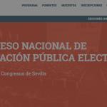 Este jueves se celebra el IV Congreso Nacional de Contratación Pública Electrónica