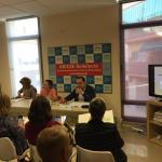Los partidos políticos explican en ADICAE Sevilla sus propuestas en materia de consumo