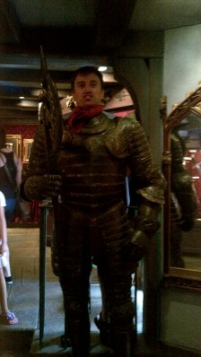 me as a knight