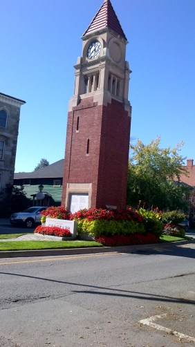 Cenotaph and clock tower