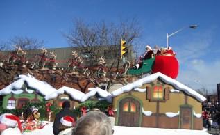 Santa parade 2014