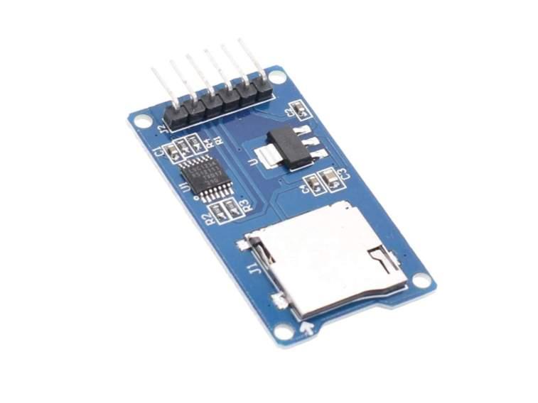 Modulo SPI Lector de Tarjetas microSD