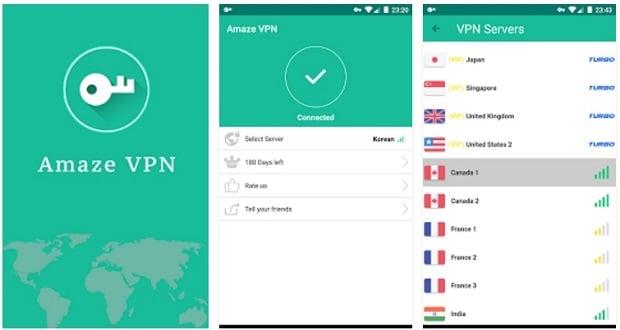 amaze vpn - Aplicaciones VPN Para Android
