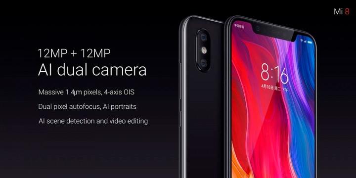 Xiaomi Mi 8 características y precio