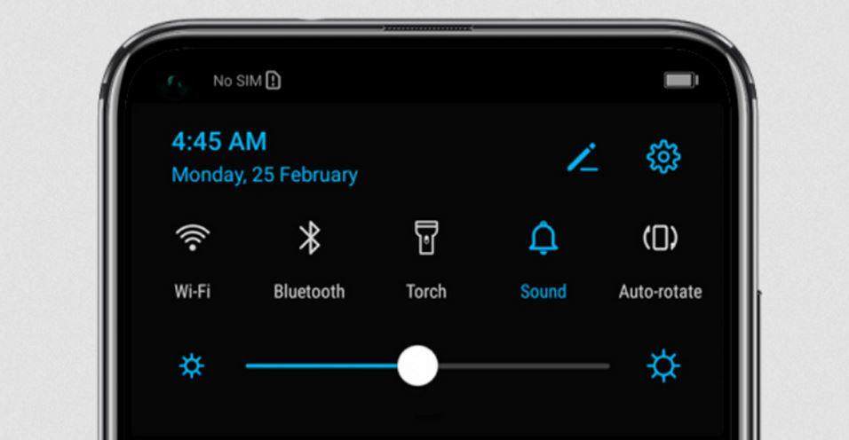 Modo oscuro Huawei 2