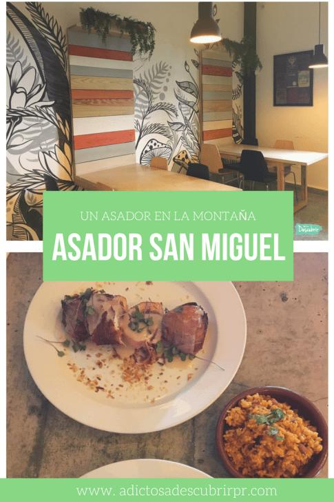 Un asador en la montaña - Asador San Miguel - Adictos a Descubrir PR