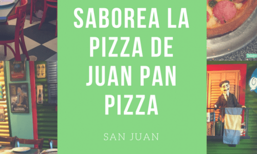 #PizzaLovers: Saborea la pizza de Juan Pan Pizza
