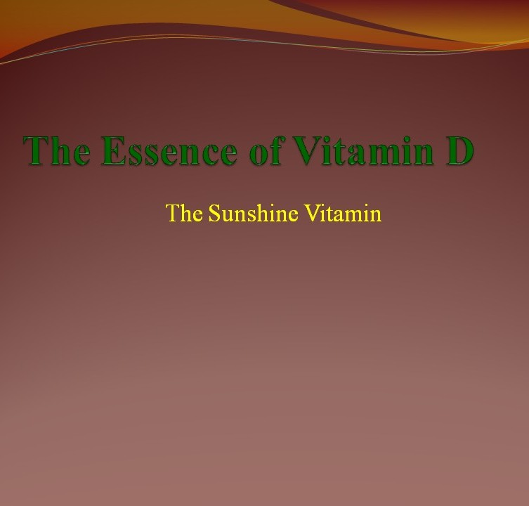 The Essence of Vitamin D – Adidarwinian 1