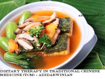 Dietary Therapy in Traditional Chinese Medicine (TCM) - Adidarwinian
